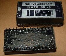 10 x nvr8 8k x 8 SRAM 28 Pin DIP Greenwich strumenti 6264