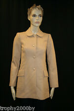 NEW JUICY COUTURE $397 CAMEL DARLING WOOL BLEND COAT SZ L LARGE