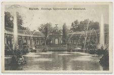 AK Bayreuth - Eremitage, Sonnentempel u. Wasserkunst (V178)