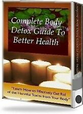 Updated COMPLETELY DETOX YOUR BODY (CD ROM) - BETTER HEALTH