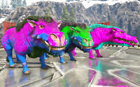 Ark Survival Evolved Xbox One PvE Unleveled Boss Daeodon Color Mutated 218+