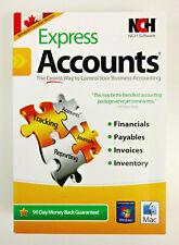 NCH Express Accounts Canadian Edition Accounting Software Bilingual WIN/MAC