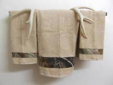Set of 3 Bath ~CAMO~ Hunting Bath & Hand Towels