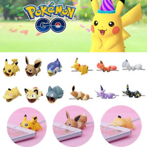Pokemon Cable Bite Protector Saver Cover Accessory for Apple Samsung iPhone iPad