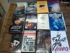Lot de 12 livres:L'enfant rien les enfants des exclus les enfants de la violence