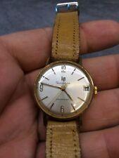 ancienne montre mécanique homme LIP DAUPHINE CALENDRIER art déco plaqué or