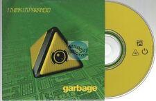 Garbage I Think I'm Paranoid CD SINGLE card sleeve