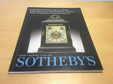 Magazine SOTHEBY'S - Important Watches, Clocks - London 24 May 2000 - ENG