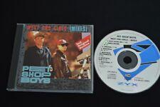 PET SHOP BOYS WEST END GIRLS REMIXES RARE CD! ZYX RECORDS PSB