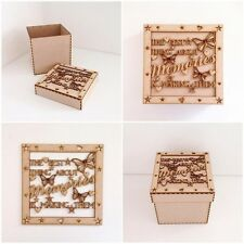 Laser Cut 'The best thing about memories, is making them' Box memories Box (H78)