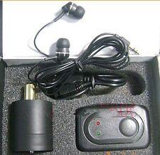 Spy Highly Sensitive Wall microphone voice bug ear listen device voice bug
