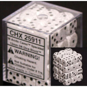 Dice and Gaming Accessories D6 Sets Speckled speckled: 12mm d6 Arctic Camo (36)