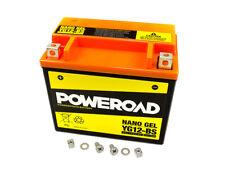 Batería Poweroad GEL ytx12-bs para aprilia Daelim Honda Kawasaki Suzuki Yamaha