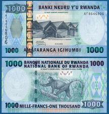 RUANDA / RWANDA 1000 Francs 1.2.2008  UNC P.35