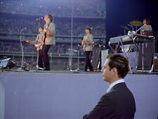 "The Beatles Brian Epstein at Shea Stadium 14 x 11"" Photo Print"