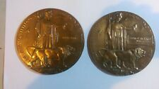 More details for plaques to wills brothers  from portland, hms louvain, 6th dorsets wounded x3.