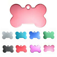 38MM Personalized Customised Pet Puppy Dog Cat Animal Name ID Tags for Coll W6A9