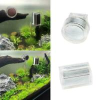 Magnetic Aquarium Algae Scraper Fish Tank Glass Cleaner Scrubber Cleaning M2M7
