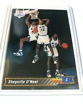 1992/93 NBA SHAQUILLE O'NEAL RC UPPER DECK #1 - SHAQ ROOKIE CARD - HOF
