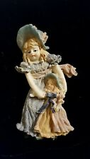 Brooch Victorian Woman and Child Crafts Unusual