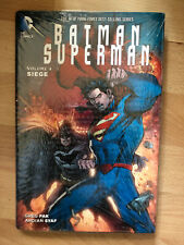 BATMAN SUPERMAN SIEGE HARDCOVER Hardback hb hc dc comics Collects #17-20 new