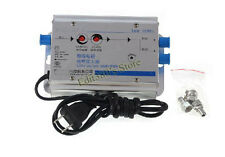 30db 2W Adjustable Cable 45-860MHz TV Signal Amplifier 1 In 2 Out CATV Amplifier