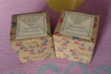 miniatures de parfum année 1925 - lot de 2 - 2,5 ml avec boite neuf
