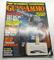 Guns & Ammo Magazine April 1995 Back Issue Top 10 Combat Handguns
