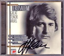 Siegfried JERUSALEM Signiert GREAT TENOR ARIAS Lohengrin Meistersinger Oberon CD