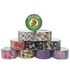 10 Rolls Printed Duck Brand Duct Tape Patterns Art Crafts DIY 100yds Wallet