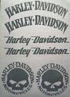 Harley Davidson 3er SET Logo Aufkleber Div.Farben Top Neu !!!