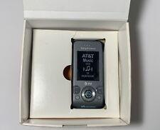 Sony Ericsson Walkman W580i NEW OPEN BOX slide cell phone - AT&T - Urban Grey