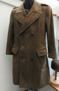 Military WW2 British Warm Weather Great Coat Uniform 1945 Dated Officers (5470)