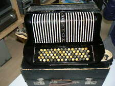 Hohner Sirena 3 III , Knopfakkordeon , im Koffer ,  WA.NR. 763