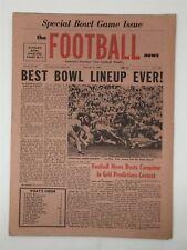 1968 The Football News 12/31/1968 Bowl Issue OJ Simpson USC