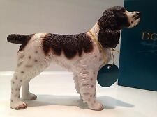 Brown And White English Springer Spaniel Ornament Gift Figure Figurine