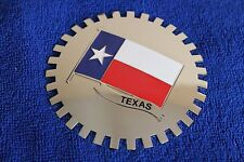 Lone Star State Texas Grille Badge Bumper License Topper Accessory Chrysler Ford