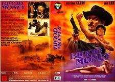 """VHS - FSK 18 - """" Blood MONEY """" (1974) - Lee Van Cleef -- VPS"""