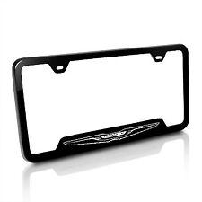 Chrysler Black Steel License Plate Frame