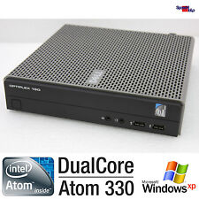 DELL OPTIPLEX 160 INTEL ATOM 330 MINI SMALL COMPUTER PC WINDOWS XP 7 160GB 2GB