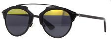 Christian Dior SO REAL BOYT1 Black Sunglasses Gold Grey Lens NEW  Italy