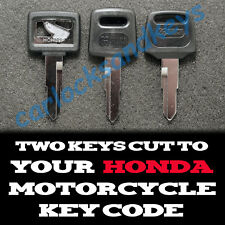 1997-2003 Honda Valkyrie 1500 Motorcycle Keys Cut By Code - 2 Working Keys