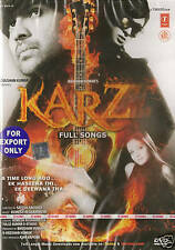 KARZ / FULL SONGS - BOLLYWOOD MUSIC DVD