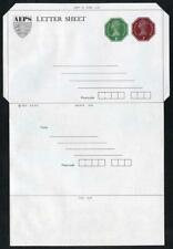 1p and 2p AEPS Stamped to Order Lettersheet