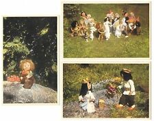 Group of 10 Fantasy, Trolls of Scandinavia Antique Postcards N4861
