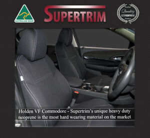 Waterproof premium neoprene Front FB MP & Rear seat cover fits VF Commodore