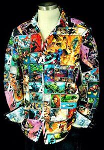 Robert Graham Avengers Unite NWT $278 Marvel Limited Edition XL