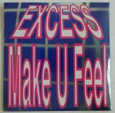 "EXCESS : MAKE U FEEL (12"" REMIX) ♦ NEUF / NEW CD ♦"