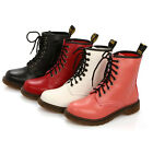New Women Ladies Lace Up Martin Boots Platform Vintage Punk Ankle Boots Shoes