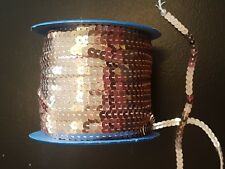 SEW ON String Sequin 5 mm champagne Peach Sequin Couture Bordure Garniture